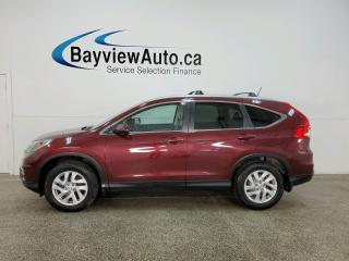 Used 2016 Honda CR-V EX-L - AWD! HTD LEATHER! HONDA LINK! SUNROOF! ALLOYS! for sale in Belleville, ON