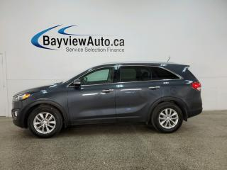 Used 2016 Kia Sorento 2.4L LX - HEATED SEATS! BLUETOOTH! ALLOYS! PWR GROUP! for sale in Belleville, ON