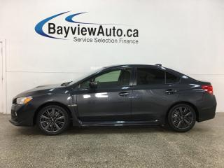 Used 2017 Subaru WRX - 6SPD! AWD! HTD SEATS! SUBARU STARLINK! ALLOYS! for sale in Belleville, ON