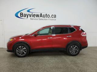 Used 2016 Nissan Rogue SL Premium - AWD! HTD LEATHER! NAV! PANOROOF! for sale in Belleville, ON