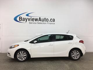 Used 2016 Kia Forte 2.0L LX+ - AUTO! HATCH! ALLOYS! FULL PWR GROUP! for sale in Belleville, ON