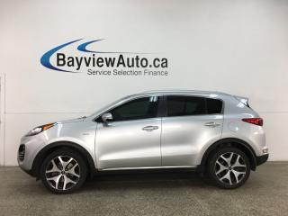 Used 2017 Kia Sportage SX Turbo - AWD! HTD/COOLED LTHR! PANOROOF! NAV! PWR LIFTGATE! + MORE! for sale in Belleville, ON