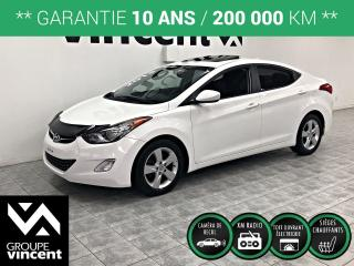 Used 2013 Hyundai Elantra GLS ** GARANTIE 10 ANS ** Un seul propriétaire! for sale in Shawinigan, QC