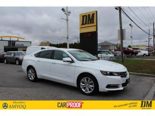 Used 2019 Chevrolet Impala LT V6 CUIR TOIT CAMERA DEMARREUR SIÈGES CHAUFFANTS for sale in Salaberry-de-Valleyfield, QC