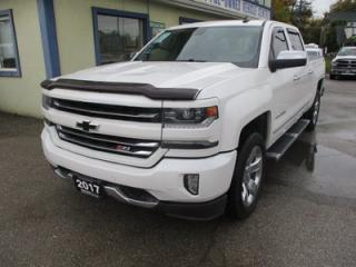Used 2017 Chevrolet Silverado 1500 LOADED LTZ EDITION 5 PASSENGER 5.3L - V8.. 4X4.. CREW.. SHORTY.. NAVIGATION.. LEATHER.. HEATED/AC SEATS.. SUNROOF.. BACK-UP CAMERA.. BOSE AUDIO.. for sale in Bradford, ON