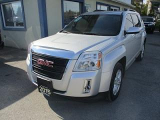 Used 2015 GMC Terrain FUEL EFFICIENT SLE-2 EDITION 5 PASSENGER 2.4L - ECO-TEC.. HEATED SEATS.. PIONEER AUDIO.. BACK-UP CAMERA.. BLUETOOTH SYSTEM.. for sale in Bradford, ON