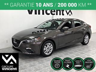 Used 2015 Mazda MAZDA3 GS ** GARANTIE 10 ANS ** Très bas kilométrage! for sale in Shawinigan, QC