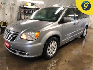 Used 2013 Chrysler Town & Country Stow N Go * Overhead rear DVD player * Power liftgate * Power second row windows * Power third row quarter vented windows *  ParkView Rear Back Camera for sale in Cambridge, ON