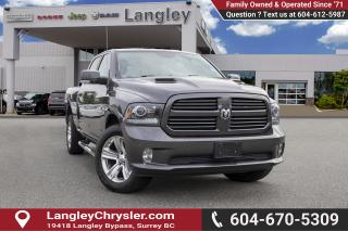 Used 2017 RAM 1500 Sport *Tonneau* *SUNROOF* *BACKUP CAMERA* *NAVI* for sale in Surrey, BC