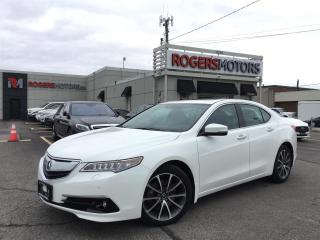 Used 2015 Acura TLX SH-AWD - NAVI - SUNROOF - REVERSE CAM for sale in Oakville, ON