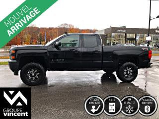 Used 2015 Chevrolet Silverado 1500 BLACKOUT 4X4 ** GARANTIE 10 ANS ** Beau look! for sale in Shawinigan, QC