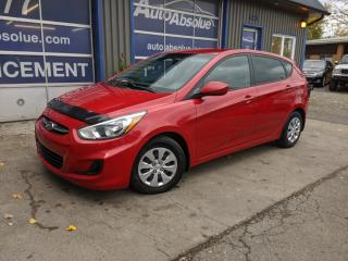 Used 2015 Hyundai Accent Gl + bluetooth + a/c + gr. electr + auto for sale in Boisbriand, QC