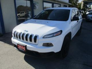 Used 2014 Jeep Cherokee FUEL EFFICIENT SPORT EDITION 5 PASSENGER 3.2L - V6.. 4X4.. AUX/USB INPUT.. KEYLESS ENTRY.. TOUCH SCREEN DISPLAY.. for sale in Keswick, ON