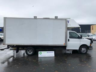 Used 2013 GMC Savana G3500 CUBE VAN 16'X7' BOX! ONLY 97 KM'S!! FREE BCAA! for sale in Langley, BC