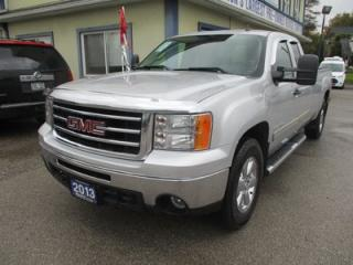 Used 2013 GMC Sierra 1500 READY TO WORK SLE EDITION 6 PASSENGER 5.3L - V8.. 4X4.. EXTENDED-CAB.. 8-FOOT LONG BOX.. CD/AUX INPUT.. KEYLESS ENTRY.. for sale in Uxbridge, ON