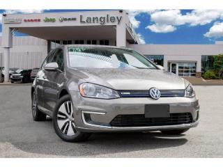 Used 2016 Volkswagen Golf e-Golf SE FAST CHARGING, 130 KM RANGE for sale in Surrey, BC