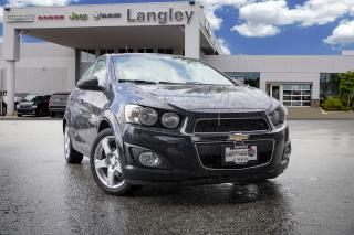 Used 2015 Chevrolet Sonic LT Auto - Heated Seats -  Backup Camera for sale in Surrey, BC