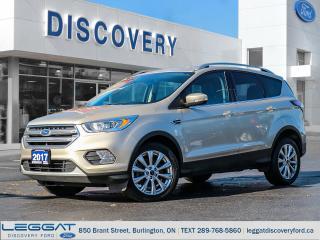 Used 2017 Ford Escape Titanium for sale in Burlington, ON