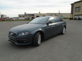 Used 2009 Audi A4 Berline 4 portes, boîte automatique, 2.0 for sale in Mirabel, QC