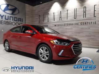 Used 2017 Hyundai Elantra GL+DEMARREUR+CAMERA+BANCS/VOLANT CHAUF for sale in Sherbrooke, QC
