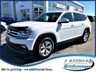 Used 2018 Volkswagen Atlas 3.6L Comfortline 4Motion AWD for sale in PORT HOPE, ON