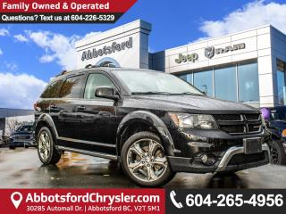 Used 2016 Dodge Journey Crossroad *ACCIDENT FREE* *LOCALLY DRIVEN* for sale in Abbotsford, BC