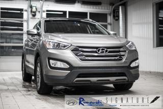 Used 2016 Hyundai Santa Fe Sport AWD 2.4L Luxury chez Rimouski hyundai for sale in Rimouski, QC