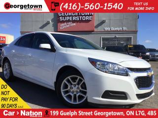 Used 2016 Chevrolet Malibu LT | SUNROOF | BACKUP CAM | BLUTOOTH |CLEAN CARFAX for sale in Georgetown, ON