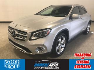 Used 2018 Mercedes-Benz GLA 250 4MATIC, HEATED LEATHER ,NAVIGATION, PANORAMIC ROOF. for sale in Calgary, AB