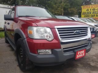 Used 2006 Ford Explorer XLT-EXTRA CLEAN-4X4-SUNROOF-DVD-WINTER TIRES for sale in Scarborough, ON