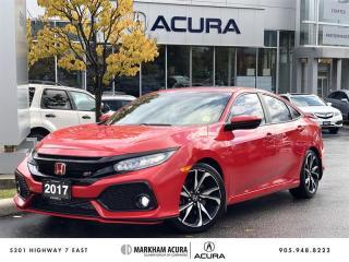 Used 2017 Honda Civic Sedan SI 6MT Navi, Blind Spot Cam, Tints for sale in Markham, ON