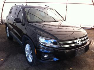 Used 2013 Volkswagen Tiguan 2.0 TSI Highline NAVIGATION, PANORAMIC SUNROOF, LEATHER HEATED SEATING, REVERSE CAMERA for sale in Ottawa, ON