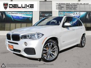 Used 2016 BMW X5 xDrive35i 2016 BMW X5 3.0L M SPORT WHITE ON BROWN NAVIGATION UPGRADE SOUND X AWD $0 DOWN OAC for sale in Concord, ON