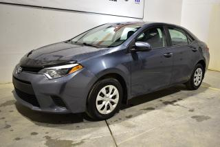 Used 2015 Toyota Corolla CE+Bas KM for sale in Sherbrooke, QC
