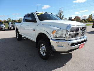 Used 2011 RAM 2500 Laramie. Diesel. New tries, Rustproofed for sale in Gorrie, ON