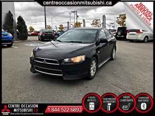 Used 2012 Mitsubishi Lancer Berline 4 portes CVT SE traction intégra for sale in St-Jérôme, QC