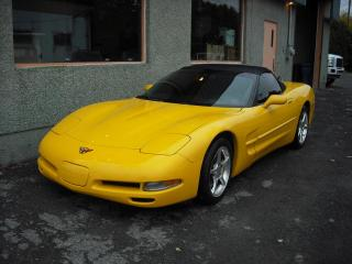 Used 2001 Chevrolet Corvette CONVERTIBLE CUIR MAGS for sale in Repentigny, QC