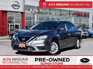 Used 2019 Nissan Sentra SV Style PKG   16 Alloy   Apple Carplay   Sunoof for sale in Richmond Hill, ON
