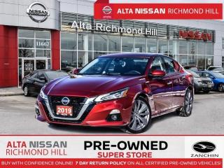 Used 2019 Nissan Altima 2.5 Edition ONE   Leathr   Moonroof   Propilot for sale in Richmond Hill, ON