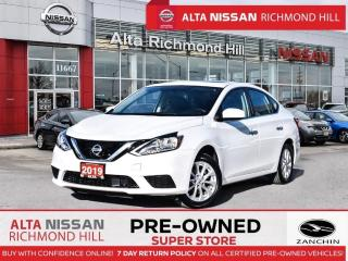 Used 2019 Nissan Sentra SV   Apple Carply   Push Start   Back-UP CAM for sale in Richmond Hill, ON