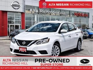 Used 2019 Nissan Sentra SV   Apple Carply   Heated Seats   Push Start for sale in Richmond Hill, ON