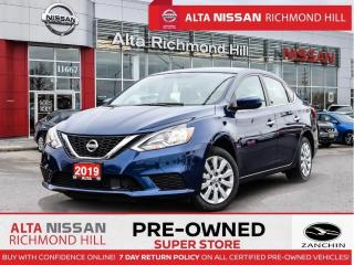 Used 2019 Nissan Sentra SV   Apple Caplay   Heated Seats   Back-UP CAM for sale in Richmond Hill, ON