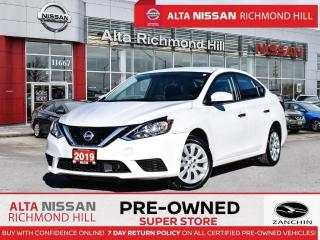 Used 2019 Nissan Sentra S   Back-UP CAM   Keyless Entry   Bluetooth for sale in Richmond Hill, ON