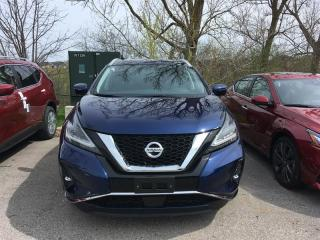 New 2019 Nissan Murano SL for sale in Richmond Hill, ON