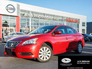 Used 2014 Nissan Sentra 1.8 S for sale in Richmond Hill, ON