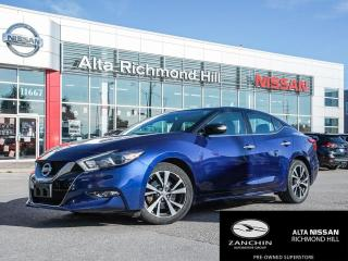 Used 2016 Nissan Maxima SV for sale in Richmond Hill, ON