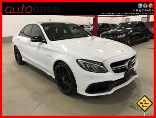 Used 2016 Mercedes-Benz C-Class C63S AMG NIGHT HUD DISTRONIC PREMIUM DESIGNO for sale in Vaughan, ON