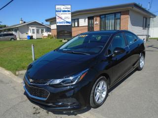 Used 2016 Chevrolet Cruze LT for sale in Ancienne Lorette, QC
