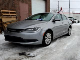 Used 2015 Chrysler 200 4dr Sdn LX FWD for sale in Kitchener, ON