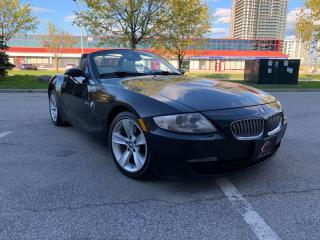 Used 2007 BMW Z4 3.0si CONVERTIBLE SPT PKG  MUST SEE HEATED SEATS for sale in Concord, ON